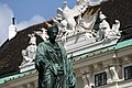 Denkmal Kaiser Franz I von Österreich - Wiener Hofburg 2013 b.jpg