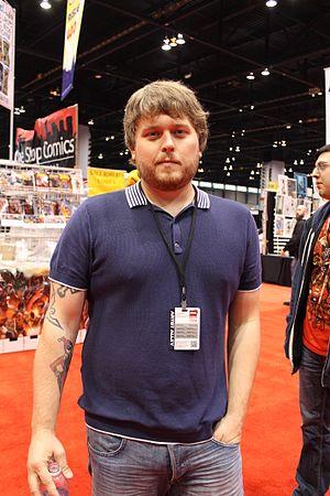Dennis Hopeless - Hopeless at the 2012 Chicago Comic & Entertainment Expo