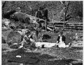 Denny family picnic on Snoqualmie River, ca 1918 (MOHAI 6455).jpg