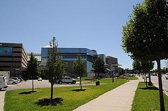 Denver Performing Arts Complex - Denver Performing Arts Complex back view