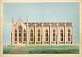 Design for the North Wing of the Library and Chapel Building at the University of Michigan, Ann Arbor MET CT 5129.jpg