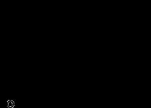 Skeletal formula of desmosterol
