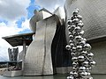 Detail of Facade of Guggenheim Museum - Bilbao - Biscay - Spain (14427213380).jpg