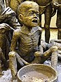 Detail of Hunger - Sculpture by Ahad Hosseini - Azerbaijan Museum - Tabriz - Iranian Azerbaijan - Iran (7421597576).jpg