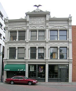 Detroit Cornice and Slate Company Building building in Detroit, Michigan, United States