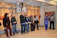 Dialogue of epochs. Interpretations - Exhibition in Gomel 13.03.2015 02.JPG