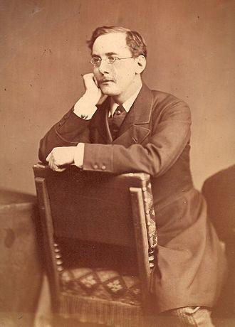 Charles Dickens Jr. - Charles Dickens Jr. in 1874