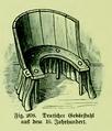 Die Frau als Hausärztin (1911) 208 Deutscher Gebärstuhl aus dem 16 Jahrhundert.png