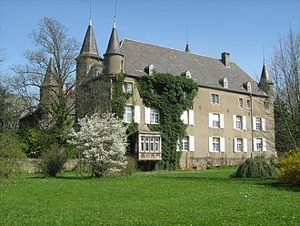 Differdange - The Differdange Castle currently serves as the European campus for Miami University