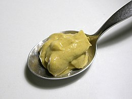 Dijon mustard on a spoon - 20051218.jpg