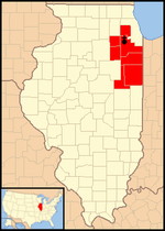 Diocese of Joliet in Illinois map 1.png