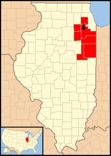 Joliet Illinois Map Roman Catholic Diocese of Joliet in Illinois   Wikipedia