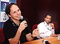 Director of the film 'Turning Pages' Denis Decourt addressing a press conference on December 01,2007 at iffi, Panaji,Goa.jpg