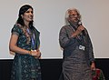 Director of the movie SWAYAVARAM (1982) Adoor Gopalakrishnan being felicitated at the screening of his movie, at the 43rd International Film Festival of India (IFFI-2012), in Panaji, Goa on November 24, 2012.jpg