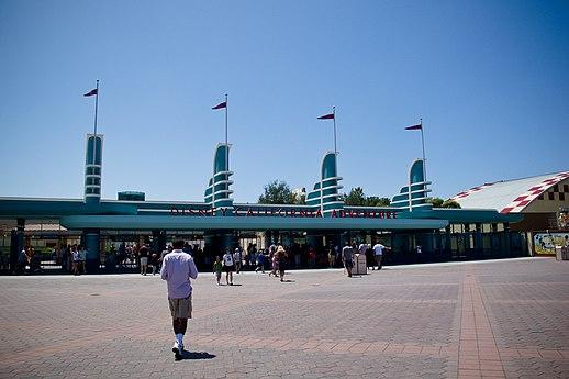 ... , similar to the entrance of Hollywood Studios at Walt Disney World