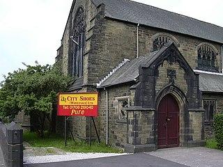 St Johns Church, Rawtenstall Church in Lancashire, England