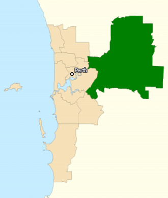Division of Hasluck - Division of Hasluck in Western Australia, as of the 2016 federal election.