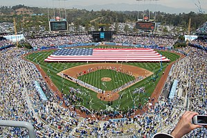 Opening Day - 2009 Opening Day at Dodger Stadium