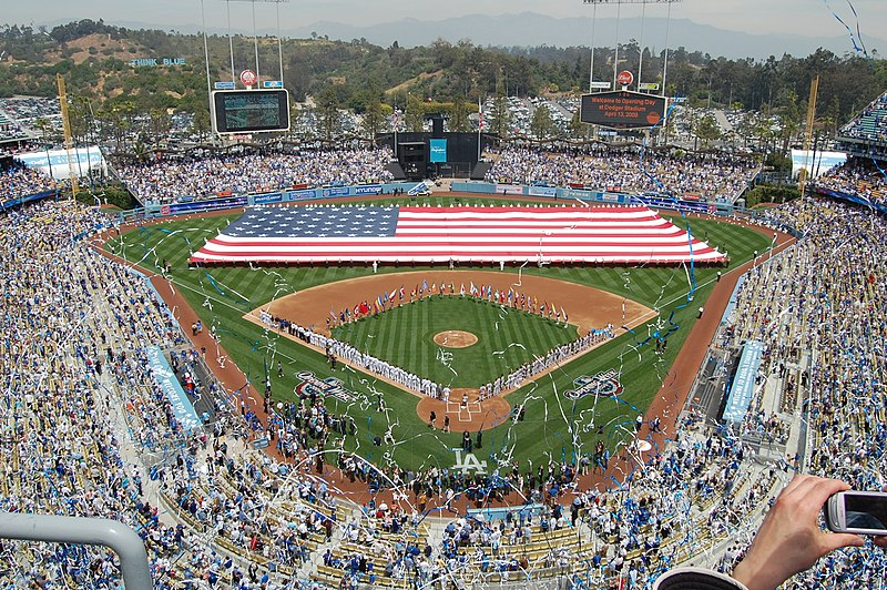 File:Dodger Stadium Opening Day 2009.jpg