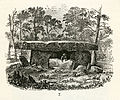 Dolmen fr Godavari district, Andhra Pradesh, India (KVHAAs Månadsblad 1880 s09 fig7).jpg