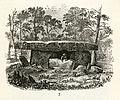 Dolmen fr Godavari district, Andhra Pradesh, India (KVHAAs Månadsblad 1880 s09 fig7).jpg