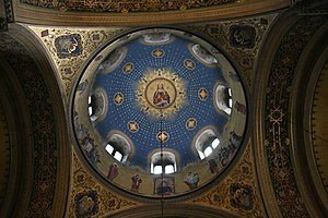 Saint Spyridon Church, Trieste - Image: Dome of the Saint Spyridon Church