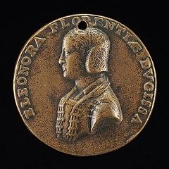 Eleonora de Toledo, died 1532, First Wife of Cosimo I de' Medici 1539 [obverse]