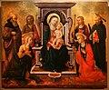 Domenico di michelino, madonna col bambino in trono e santi, 1450-60 ca., da s.m. dei cerchi firenze, 01.jpg