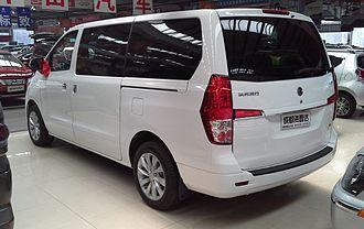 Dongfeng Fengxing CM7 - Dongfeng Fengxing CM7 rear
