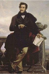 Postumes Gemälde von Ponziano Loverini, um 1879 (Quelle: Wikimedia)