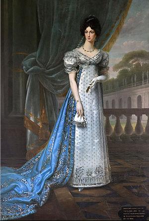 Princess Dorothea of Courland - Dorothée, duchesse de Dino, c. 1830