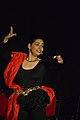 Dorothy Bhattacharya Dancing With Rabindra Sangeet - Sriniketan - Birbhum - 2017-10-21 5133.JPG