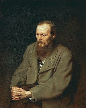 """Portrait of the Writer Fyodor Dostoyevsk..."