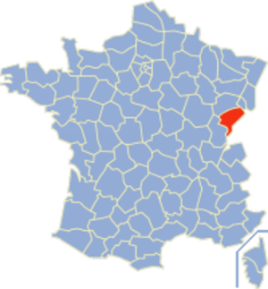 Communes of the Doubs department - Image: Doubs Position