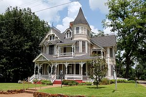 National Register of Historic Places listings in Houston County, Texas - Image: Downes Aldrich House 1