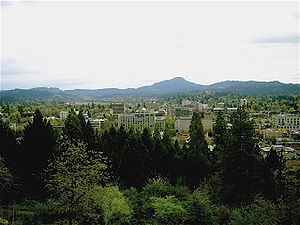 View of Eugene (Oregon)