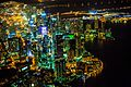 Downtown Miami from the air at night (12259733223).jpg