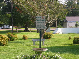 Ferriday, Louisiana - Image: Downtown green space in Ferriday, LA IMG 1207