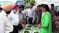 Dr. B S Dhillon VC of PAU at Farmers Meet Ballowal Saunkhri 02.jpg