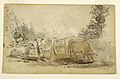 Drawing, Four Cows Grazing in a Pasture, ca. 1855–60 (CH 18175171).jpg