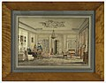 Drawing, Interior in the House of Lord Chamberlain O'Neill, Strandraede, Copenhagen, 1844 (CH 18794673).jpg