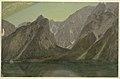 Drawing, Koenigseee, near Berchtesgadan, Bavaria, 1868 (CH 18199521).jpg