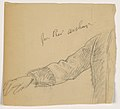 Drawing, President Chester A. Arthur's Right Arm, 1884 (CH 18566755).jpg