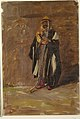 Drawing, Study of a standing bedouin, 1869 (CH 18201361-2).jpg