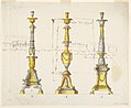 Drawing, Three Designs for Candlesticks, 1802 (CH 18547891).jpg