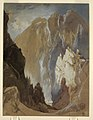 Drawing, Toltec Gorge and Eva Cliff from the West, Colorado, 1892 (CH 18189621).jpg