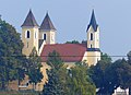 Dreifaltigkeitskirche auf dem Dreifaltigkeitsberg (Am Dreifaltigkeitsberg 8) im Stadtteil Steinweg, Regensburg.JPG