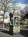 Drinking fountain by St Woolos Cathedral - geograph.org.uk - 717015.jpg