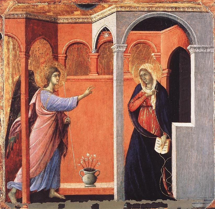 Duccio di Buoninsegna - Annunciation - WGA06752