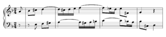 Polytonality - Duetto II from Clavier-Übung III